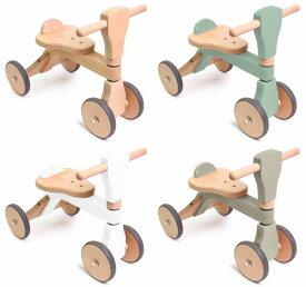 【すぐに使えるクーポン配布中】木製バイク ファーストウッディバイク 【乗用玩具 四輪車 乗り物 木のおもちゃ 木製 玩具 プッシュバイク】