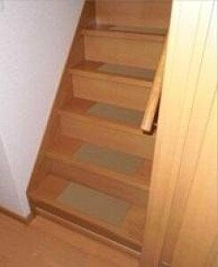 階段マット 階段用カーペット 階段 滑り止め すべり止め 滑り止めマット カーペット 絨毯 クッション 子供 マット おしゃれ 防音 安い 13枚 ブラウン 40×20