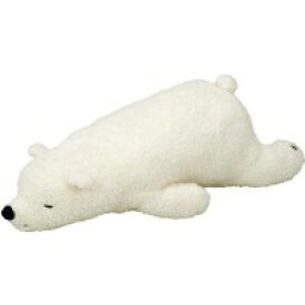 抱きまくら L ホワイト 動物【 枕 まくら ピロー 安眠枕 寝具 】 送料無料 送料込 学割 プレミアム