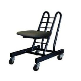 高さ調節 昇降 低姿勢 立ち仕事 中腰 作業 椅子 ブラック 日本製 キャスター ( オフィスチェア 低い 低い椅子 デスクチェア 事務いす キャスター付き椅子