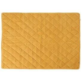 ラグ カーペット おしゃれ ラグマット 絨毯 西海岸 夏 デスクカーペット デスク下マット チェアマット イス 椅子 厚手 極厚 安い 140×100 2畳 イエロー