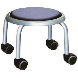 低い 椅子 ローチェア 作業椅子 キャスター付き ガーデニング オフィスチェア キッチン ローキャスター ブラック/シルバー