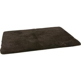 ラグ カーペット おしゃれ ラグマット 絨毯 北欧 安い ブラウン 茶色 厚手 極厚 130×185 2畳 あったか ふわふわ ふかふか シャギーラグ ダイニングラグ