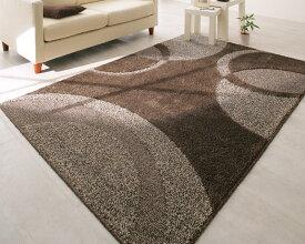 ラグ カーペット おしゃれ ラグマット 絨毯 洗える 北欧 安い マット 190×190 3畳 ブラウン 茶色 防音 厚手 極厚 モダン かっこいい ヴィンテージ