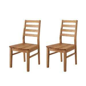 ダイニングチェア 2脚 椅子 おしゃれ 北欧 安い アンティーク 木製 シンプル ( 食卓椅子 2脚オーク 板座 ) 座面高43 座面低め ロータイプ 無垢 完成品 背もたれ ハイバック カントリー フレンチ