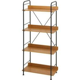 棚 シェルフ 本棚 収納 整理棚 リビング収納 ラック 多目的ラック ディスプレイ 飾り棚 ブラウン 茶色