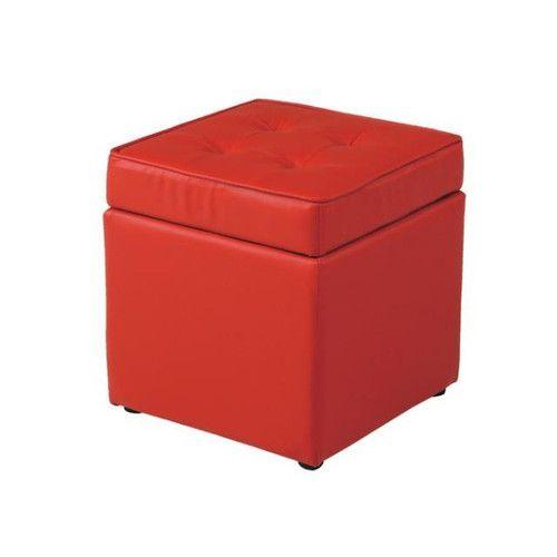 椅子 チェア 収納 スツール レッド 赤 【スツール ベンチ 椅子 ベンチソファ ベンチチェア ロビーチェア カフェ モダンチェア 椅子 いすイス 送料無料 ポイント】