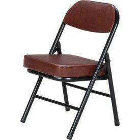 パイプ椅子 折りたたみ椅子 折り畳み椅子 イス 椅子 チェア おしゃれ 安い コンパクト ミニ ブラウン 茶色 低い椅子 低い 背もたれ 背もたれ付き ロータイプ