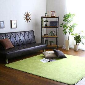 ラグ カーペット おしゃれ ラグマット 絨毯 北欧 安い 厚手 極厚 あったか ふわふわ ふかふか 185×185 2畳半 3畳 洗える マット リビング 部屋 床