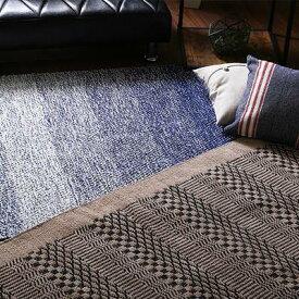 ラグ カーペット おしゃれ ラグマット 絨毯 厚手 極厚 西海岸 夏 安い アメリカン ギャッベ キリム アジアン 130×190 2畳 綿 夏用 可 北欧 リビング