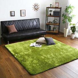 ラグ カーペット おしゃれ ラグマット 絨毯 北欧 安い 洗える 3畳 厚手 極厚 シャギーラグ 防音 ふかふか オールシーズン 190×190 リビング 床