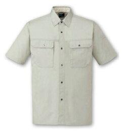 ユウティリィティ84514半袖シャツ4L5L6Lポリエステル綿混紡春夏作業服 自重堂