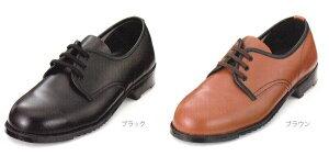 【エンゼル】女性用安全靴NO.101短靴鋼製芯/幅3E甲革:牛革クロムJIS T8101 L種合格品22.0〜25.0cm
