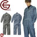 【サイズ交換1回無料】ツナギ 長袖 メンズ ジャンプスーツ ヘリンボン グレースエンジニアーズ GRACE ENGINEERS つな…