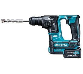 【マキタ】 10.8V 充電式ハンマドリル HR166DSMX [SDSプラスシャンク] 4.0Ahバッテリ・充電器・ケース付 <ビット別売> 【makita】