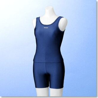 FOOT MARK school swimsuit separates women 's/l only last 1 / (with swimming/nylon/Pat / girls / school separates).