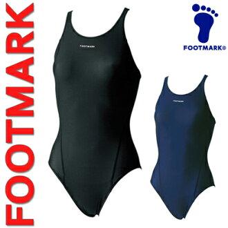 School swimsuit women's FOOT MARK ( Womens store, footmark) SCHOOL SWIMWEAR 3L-4L junior swimming infrared absorption process & repellent water lightweight stretch nylon (ladies fashion / sports / sales / swimsuit / girls / women's / store)