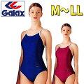 【メール便OK】ギャレックス製スクール水着女子学校水泳用各色&白パイピングの定番伝統競泳型デザインS-LL【RCP】
