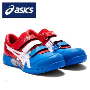 『安全靴』 アシックス ウィンジョブ CP305 AC限定色 asics 安全スニーカー 作業靴 ローカット セーフティーシューズ マジックテープ 靴 通気孔 通気性 スニーカー メンズ 男性用 かっこいい お