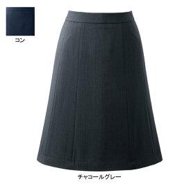 事務服・制服・オフィスウェア ピエ HCS3611 キテミテ体感フレアースカート(55cm丈) 3号〜15号