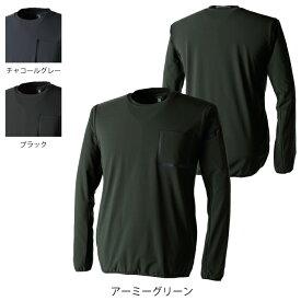 作業服 オールシーズン 藤和 8345 TSDELTAスウェットシャツ 3L〜4L
