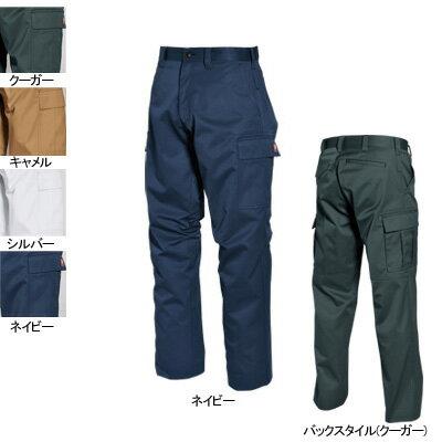 作業着 作業服 作業ズボン バートル BURTLE 6072 カーゴパンツ 70〜88