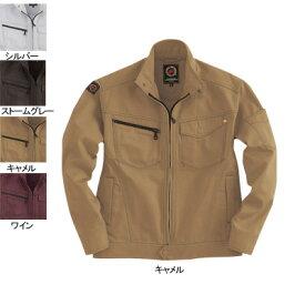 バートル BURTLE 5201 ジャケット M キャメル24 作業着 作業服 ブルゾン