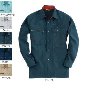 バートル BURTLE 9063 長袖シャツ LL デューク13 作業着 作業服 シャツ