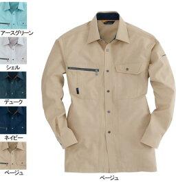 バートル BURTLE 9063 長袖シャツ L ベージュ20 作業着 作業服 シャツ