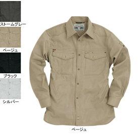 作業着 作業服 バートル BURTLE 1103 長袖シャツ L ベージュ20