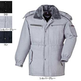 作業着 作業服 ジーベック 881 コート L・シルバーグレー22