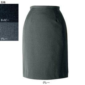 事務服・制服・オフィスウェア ヌーヴォ FS4052 セミタイトスカート 9号・グレー2