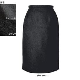 事務服・制服・オフィスウェア ヌーヴォ FS462E セミタイトスカート 13号・チャコール2