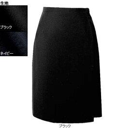 事務服・制服・オフィスウェア ヌーヴォ FC5522 キュロットスカート 21号・ブラック2