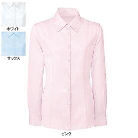事務服・制服・オフィスウェア ヌーヴォ FB752E ブラウス(長袖) 7号・ピンク3