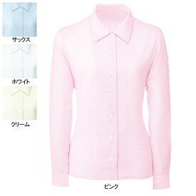 事務服・制服・オフィスウェア ヌーヴォ FB7531 ブラウス(長袖) 17号・ピンク4