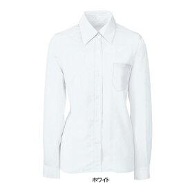 事務服・制服・オフィスウェア ヌーヴォ FB7538 ブラウス(長袖) 19号・ホワイト1