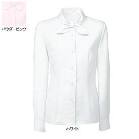 事務服・制服・オフィスウェア ヌーヴォ FB7544 ブラウス(長袖) 9号・ホワイト1