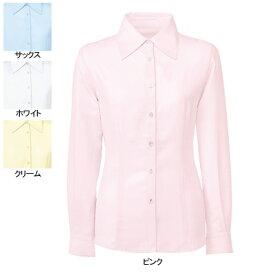 事務服・制服・オフィスウェア ヌーヴォ FB7548 ブラウス(長袖) 13号・ピンク3