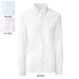 事務服・制服・オフィスウェア ヌーヴォ FB75518 ブラウス(長袖) 13号・ホワイト1