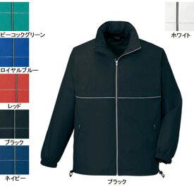 作業着 作業服 自重堂 40243 エコショートコート(フード付) 4L・ブラック044
