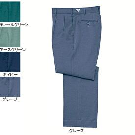 作業着 作業服 自重堂 881 防汚ツータックパンツ W96・グレープ078