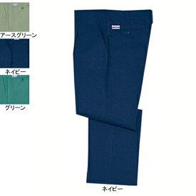 作業着 作業服 自重堂 2210 電効切火ワンタックパンツ W70・ネイビー011
