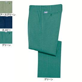 作業着 作業服 自重堂 2210 電効切火ワンタックパンツ W82・グリーン012