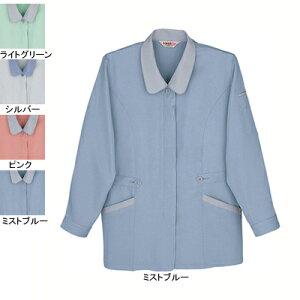 作業着 作業服 自重堂 41305 製品制電スモック 4L・ミストブルー082