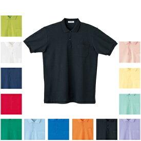 作業着 作業服 自重堂 17 抗菌・防臭半袖ポロシャツ 4L