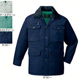 作業着 作業服 防寒着 防寒服 自重堂 7800 防寒コート(フード付) L・ネイビー011