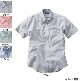 作業着 作業服 サンエス JB55015 男女兼用半袖シャツ(全4色) 4L・グリーン27