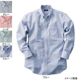 作業着 作業服 サンエス JB55016 男女兼用長袖シャツ(全4色) XL・グレー6