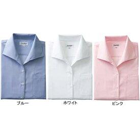 作業着 作業服 サンエス JB55063 レディース七分袖シャツ(全3色) 11号・ブルー4